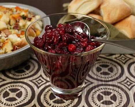 festive Cosmopolitan Cranberry Sauce