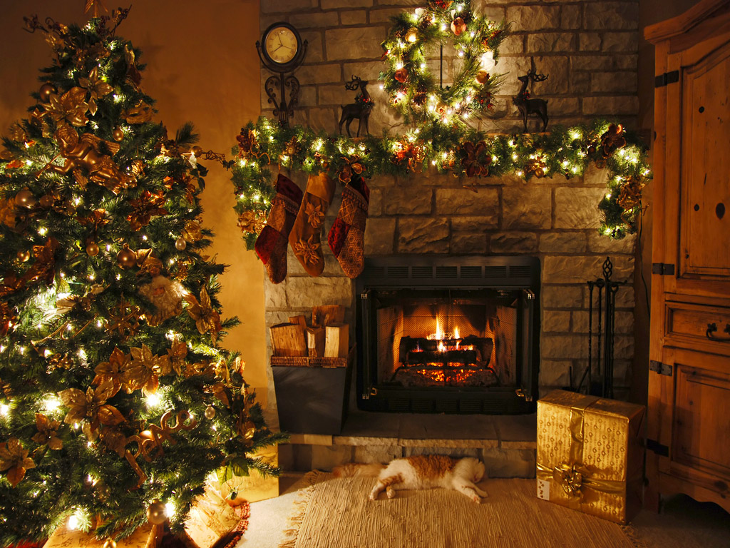 Christmas Wallpaper christmas 27669783 1024 768 Great Gift Ideas for First Time Home Buyers: